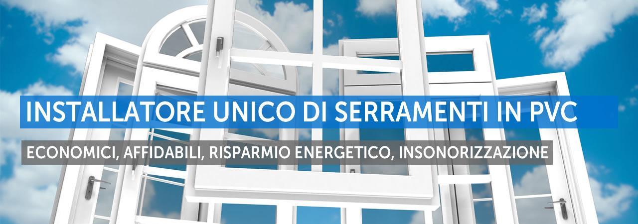 Serramente in PVC Brescia